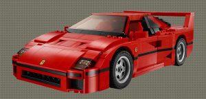 Lego ontwerpen - Ferrari F40