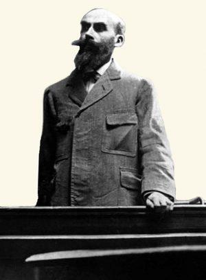 Seriemoordenaar Landru in rechtszaal