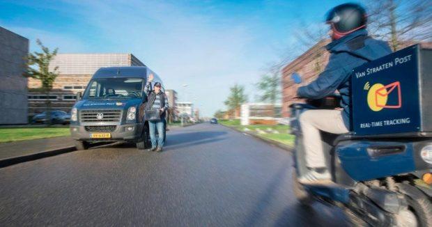Postbezorger bij VanStraaten Post