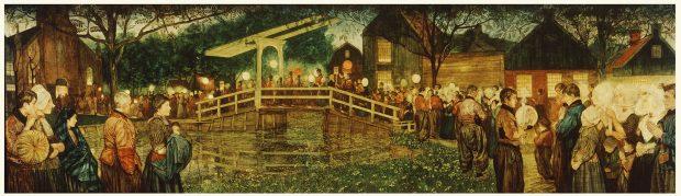 Nico Jungman - volendamse processie