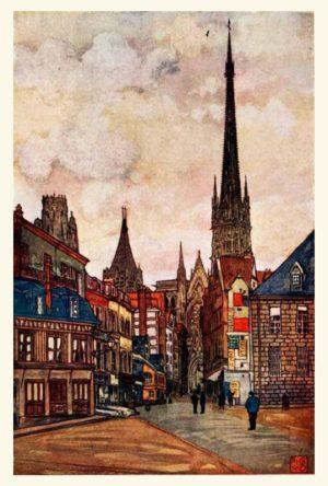 Nico Jungman - Rouen (Normandië)