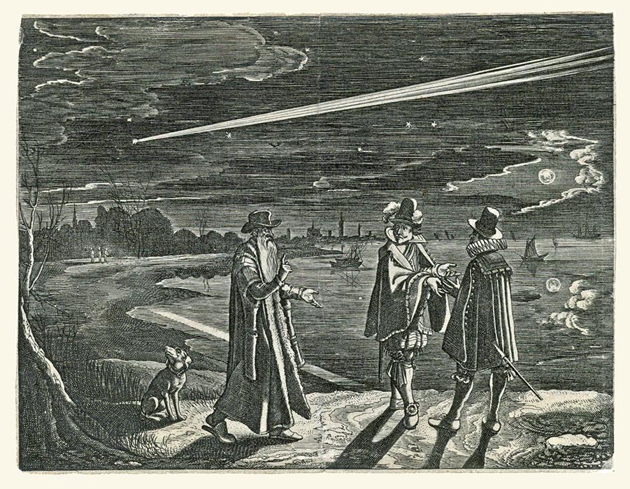 1918 o.a. angst voor komeet