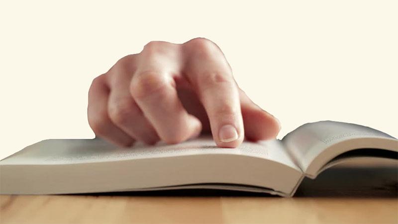 snellezen met wijsvinger methode