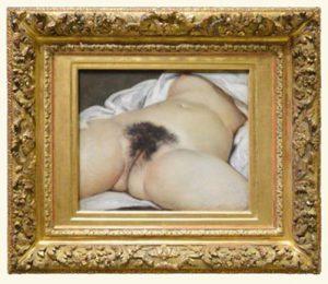 naakt van Gustave Courbet
