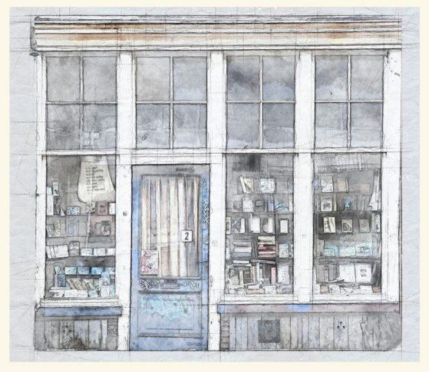 boekenwinkel verleden