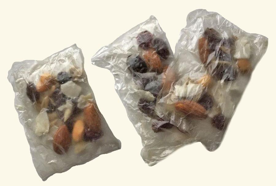 eetbare verpakking