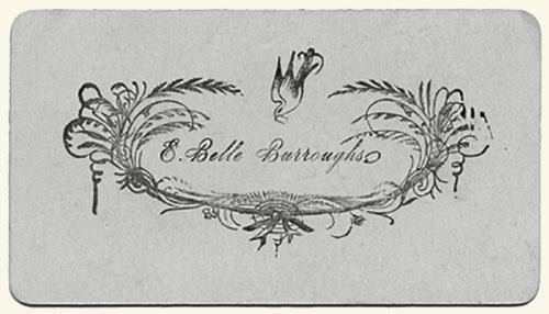 visitekaartje 1793