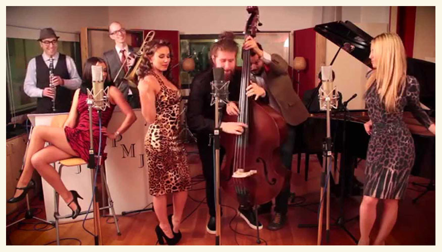 Postmodern Jukebox - all about that bass