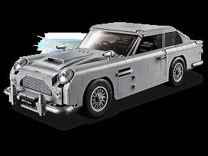James Bond Aston Martin van Lego