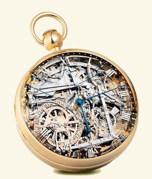 Horloges - een Breguet binnenwerk
