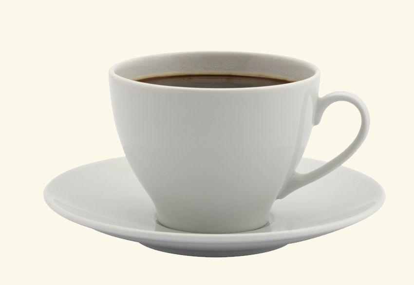kleur van het koffiekopje