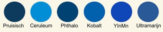 nieuwe kleur blauw