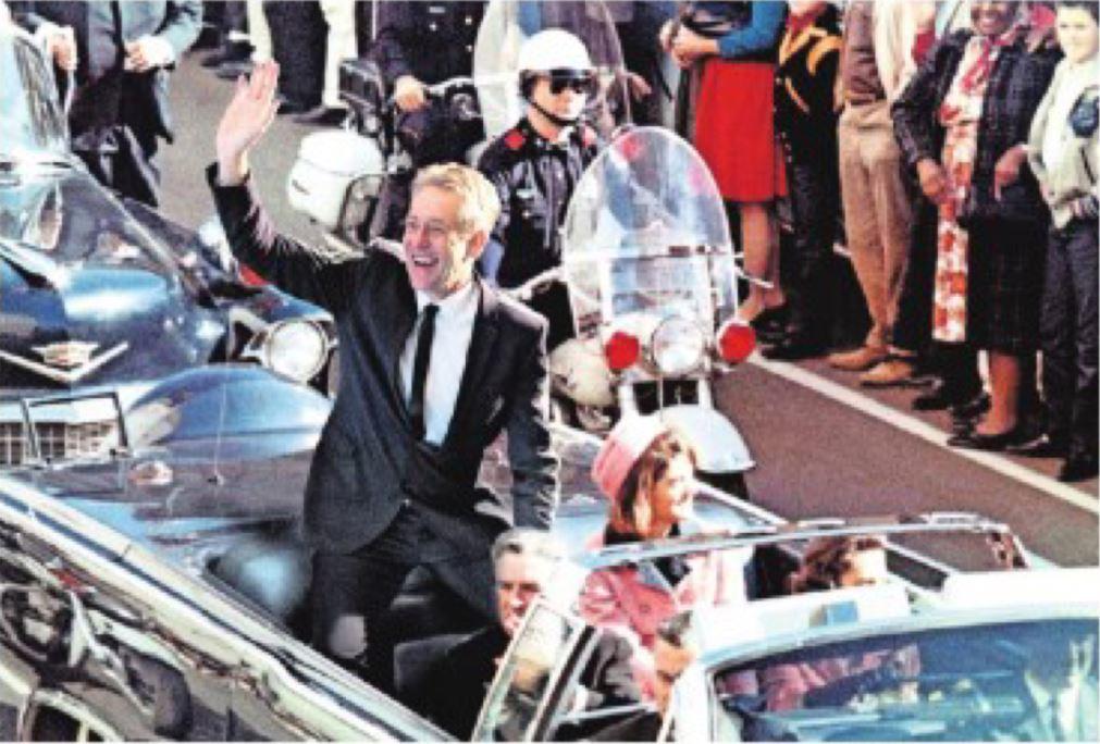 Foto's - Peter Heerschop als JFK in Dallas