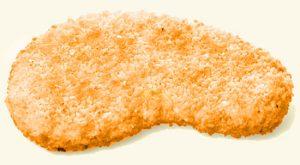vegetarische schnitzel - wortelsmaak