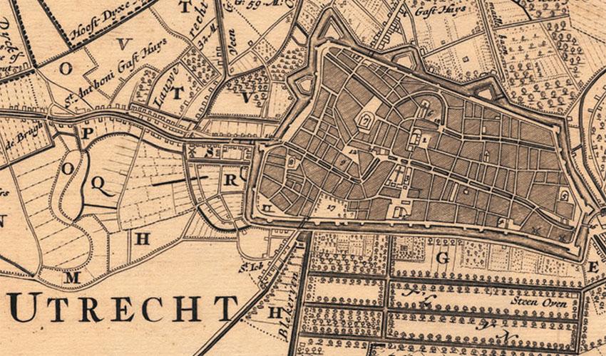 Utrechtse wijken benoemd in 1539