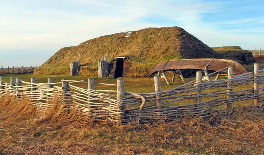 Vikingen nederzetting