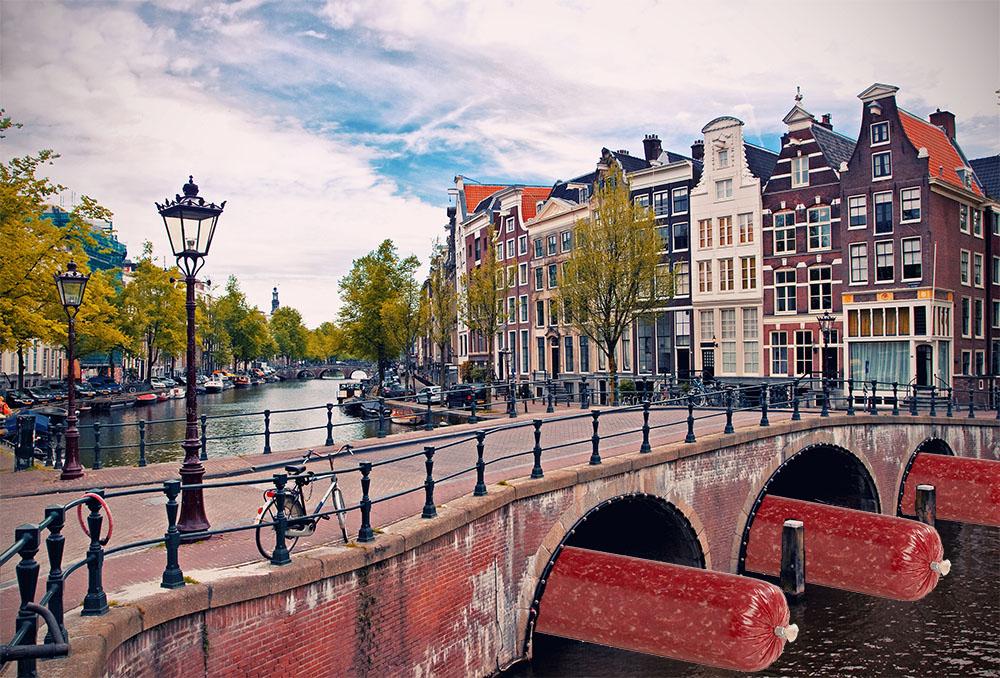 Ossenworst uit Amsterdam