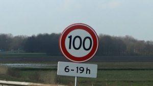 snelheid op de snelweg