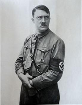 Hitler - plaatje uit Das Neue Reich van Nazi-Duitsland plakplaatjes