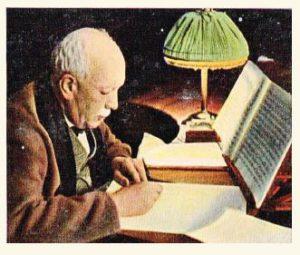 Richard Strauss in boek van Greiling