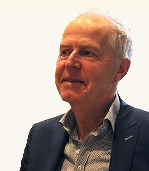 Bauke Schut tijdens een vergadering