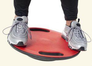 zitbal evenwicht zoeken als op balansbal