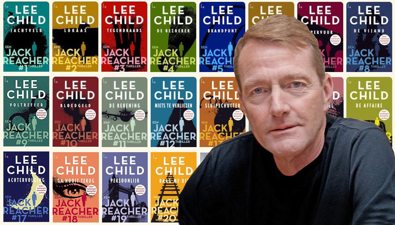 Jack Reacher boeken en Lee Child