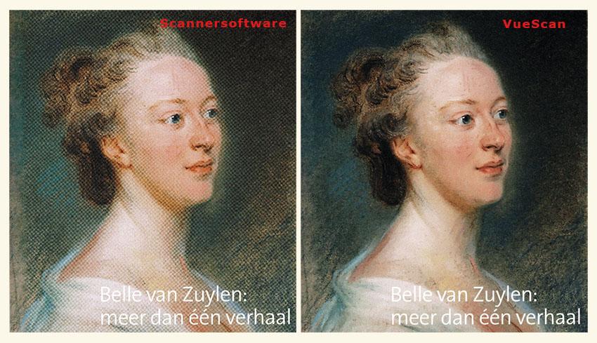 Belle van Zuylen en VueScan