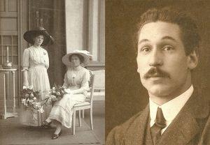 Anton C. Thomann - portretten van mijn opa en oma
