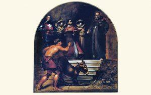 Heilige Antonius en de ezel