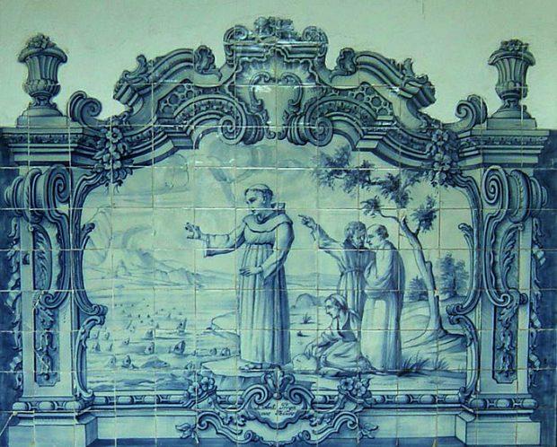 Heilige Antonius en de vissen