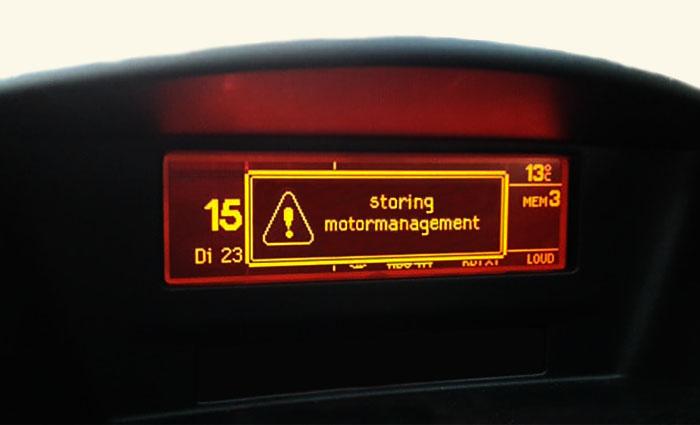 benzine 98 - storing motormanagement
