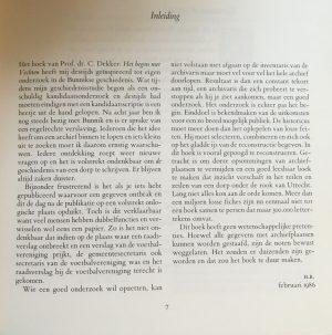 onverwachte feitjes - inleiding boekje 'Bunnik'