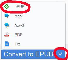 Naar epub converteren van Amazon e-boeken