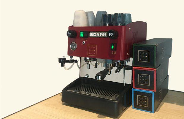 Cerco koffie, het apparaat