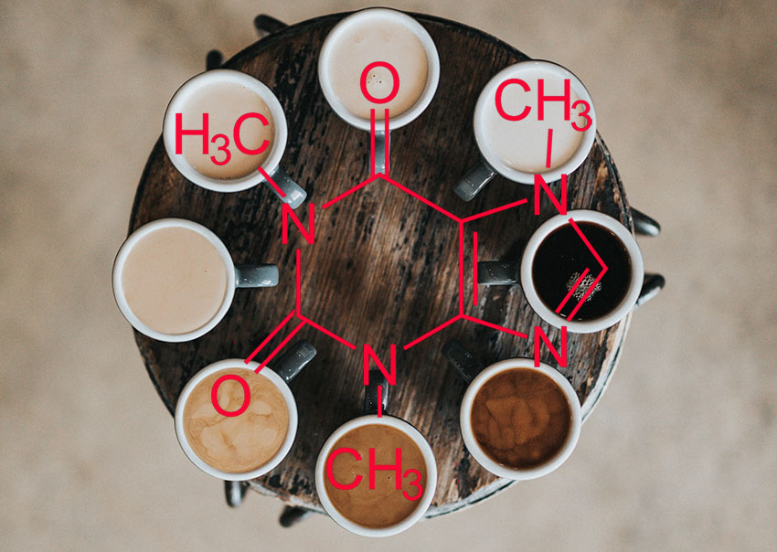 Cafeïne in koffie