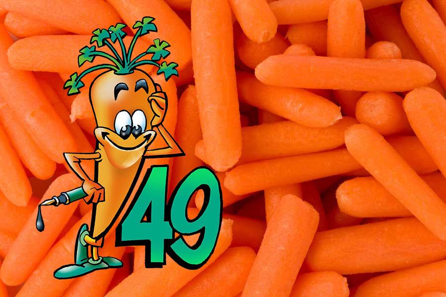 wortels en het logo