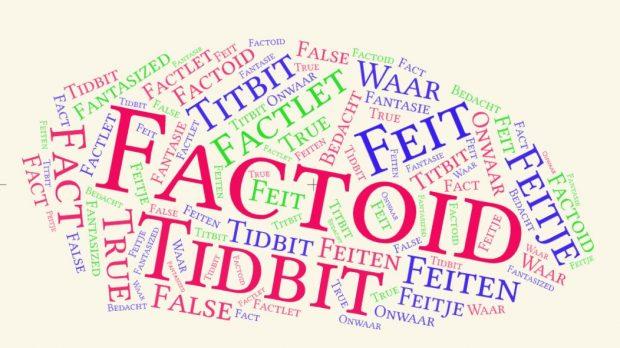 factoids factlets tidbits wolk