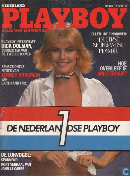 Eerste NL Playboy mei 1983