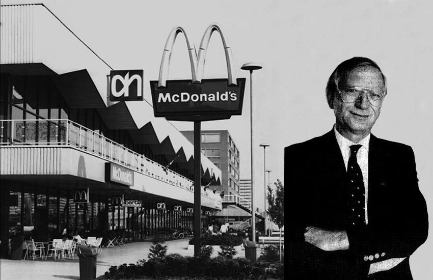 Jan Sybesma en 50 jaar McDonald's