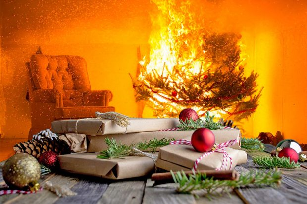 Kerst, gezellig en gevaarlijk